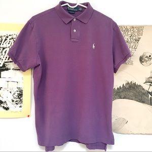 Polo Ralph Lauren light purple polo